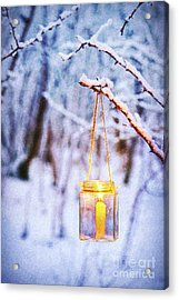 A Winters Tale Acrylic Print by Tim Gainey