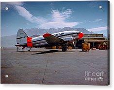 Aaxico Ch-28 Logair Curtiss C-46 Commando N67977,  Acrylic Print by Wernher Krutein