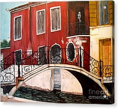 Abandoned Acrylic Print by Ann Kleinpeter