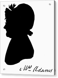 Abigail Adams Acrylic Print by The Granger Collection