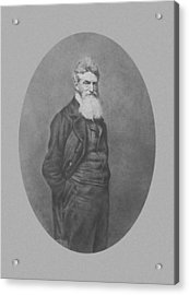 Abolitionist John Brown Acrylic Print by War Is Hell Store