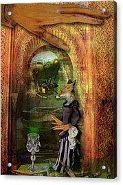 Absinthe Of Faith Acrylic Print by Deile Smith