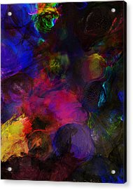Abstract 042711a Acrylic Print by David Lane