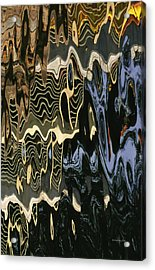 Abstract 13 Acrylic Print by Xueling Zou