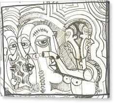 Abstract 20 Acrylic Print by Robert Wolverton Jr