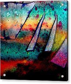 Abstract 32 Acrylic Print by John  Nolan
