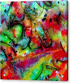 Abstract 37 Acrylic Print by John  Nolan