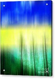 Abstract 43 Acrylic Print by Gerlinde Keating - Keating Associates Inc