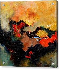 Abstract 8080 Acrylic Print by Pol Ledent