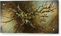 Abstract Design 107 Acrylic Print by Michael Lang