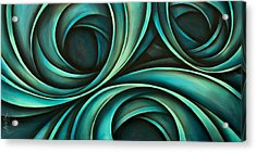 Abstract Design 33 Acrylic Print by Michael Lang