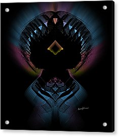 Abstract Design 5 Acrylic Print by Anthony Caruso