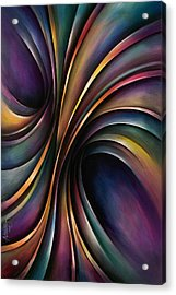Abstract Design 55 Acrylic Print by Michael Lang