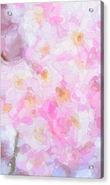 Abstract Flowers  Acrylic Print by Toppart Sweden