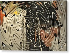 Abstract Glass 3 Acrylic Print by Marty Koch