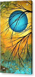 Abstract Landscape Art Passing Beauty 1 Of 5 Acrylic Print by Megan Duncanson