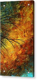 Abstract Landscape Art Passing Beauty 5 Of 5 Acrylic Print by Megan Duncanson