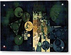 Abstract Painting - Ecru Acrylic Print by Vitaliy Gladkiy