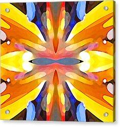 Abstract Paradise Acrylic Print by Amy Vangsgard