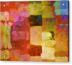 Abstract Study One Acrylic Print by Ann Powell