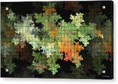 Abstract World Acrylic Print by Deborah Benoit