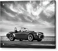 Ac Shelby Cobra Acrylic Print by Mark Rogan