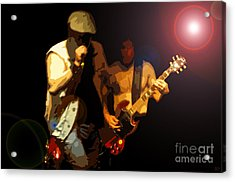 Acdc Acrylic Print by David Lee Thompson