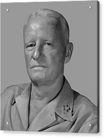 Admiral Chester Nimitz Acrylic Print by War Is Hell Store