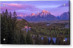 Admiration Acrylic Print by Chad Dutson