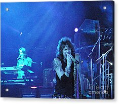 Aerosmith-steven Tyler-00107 Acrylic Print by Gary Gingrich Galleries