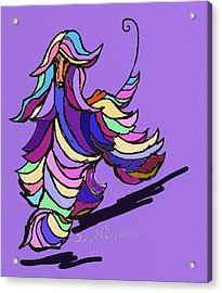 Afghan Colors Acrylic Print by Terry Chacon