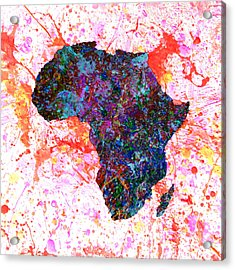 Africa 12a Acrylic Print by Brian Reaves