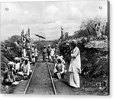 Africa: Railway, C1905 Acrylic Print by Granger