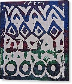 African Design  Acrylic Print by Caroline Street