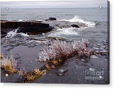 After The Northeaster Acrylic Print by Sandra Updyke