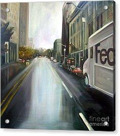 After The Rain Acrylic Print by Barbara Wilson