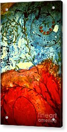 After The Storm The Dust Settles Acrylic Print by Angela L Walker