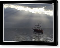 After The Storm Acrylic Print by William  Ballester