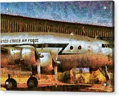 Air - United States Air Force Acrylic Print by Mike Savad