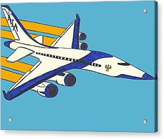 Airline Acrylic Print by Ronald Woods