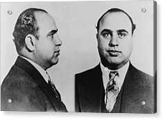 Al Capone 1899-1847, Prohibition Era Acrylic Print by Everett