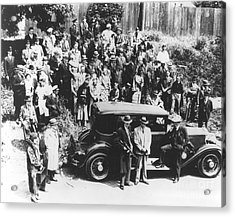 Al Capone (1899-1947) Acrylic Print by Granger