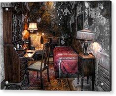 Al Capone Cell Acrylic Print by Svetlana Sewell