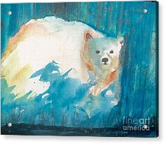 Alaskan Summer Acrylic Print by Trilby Cole
