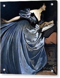Alathea Acrylic Print by John White Alexander