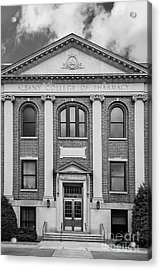 Albany College Of Pharmacy O' Brien Building Acrylic Print by University Icons