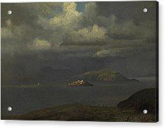 Alcatraz Acrylic Print by Celestial Images