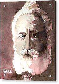 Alexander Graham Bell Acrylic Print by Arline Wagner