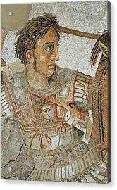 Alexander The Great Acrylic Print by Roman School
