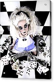 Alice1 Acrylic Print by Kelly Jade King